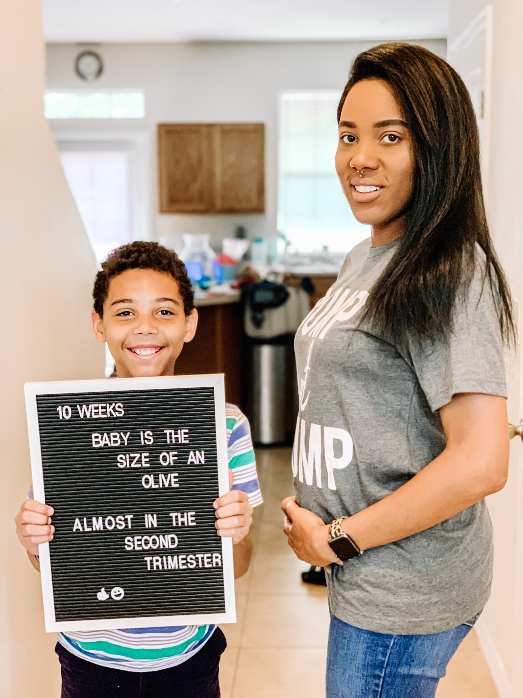 First Trimester: 10 Weeks Pregnant Blog Post - Lola Nicole